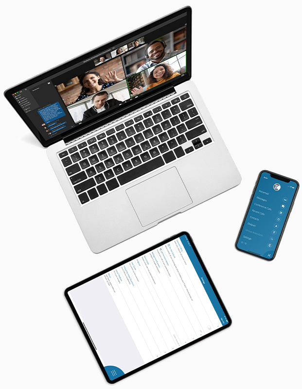 CoreDial CoreNexa Unified Communications on any devices