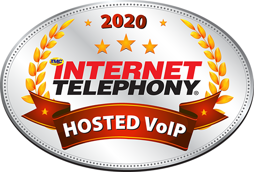 2020 INTERNET TELEPHONY Hosted VoIP Excellence Award