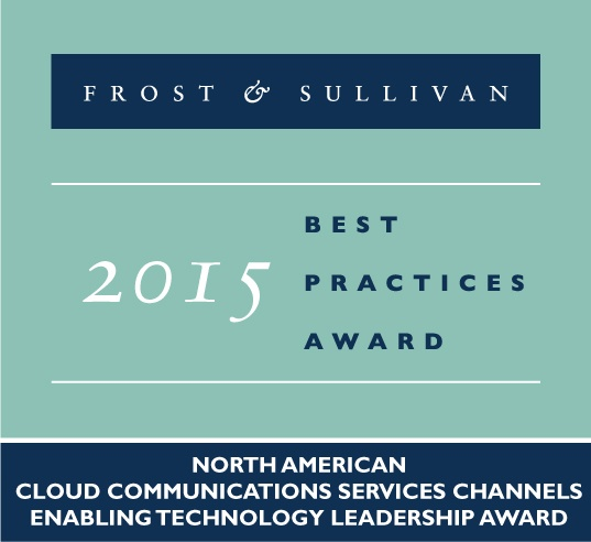 CoreDial Named Recipient of 2015 Frost & Sullivan Award for Enabling Technology Leadership
